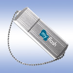 USB флеш-диск - A-Data PD4 Small Silver - 2Gb